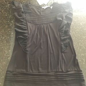 Brand New with Tags Black Blouse